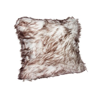 Hebert Faux Fur Throw Pillow