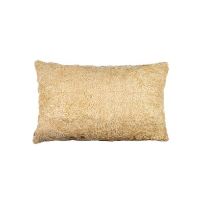 Sheba Sheep Faux Fur Lumbar Pillow