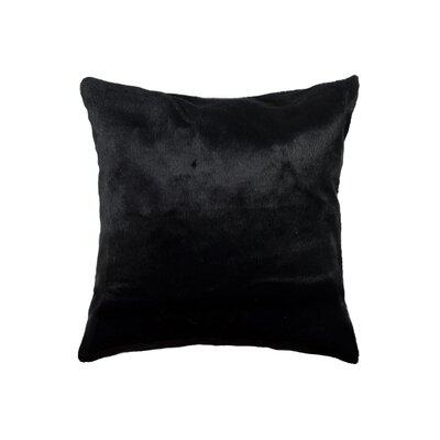 Sheba Square Mink Faux Fur Throw Pillow