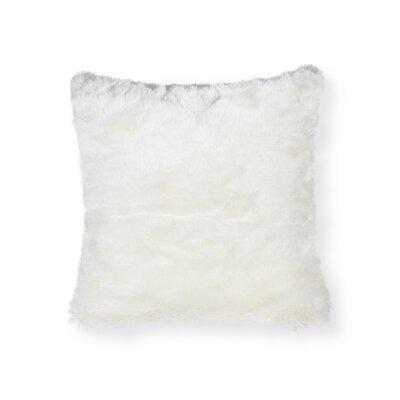 Sheba Arctic Fox Faux Fur Throw Pillow
