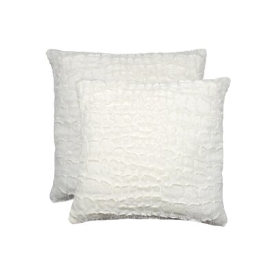 Sheba Mink Faux Fur Throw Pillow