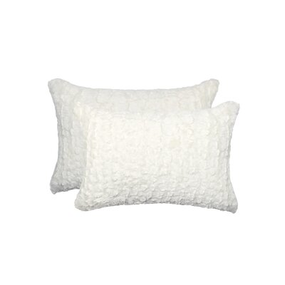 Sheba Mink Faux Fur Lumbar Pillow