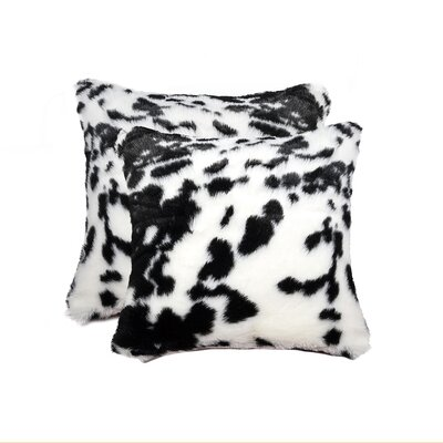 Weehawken Sugarland Faux Fur Throw Pillow