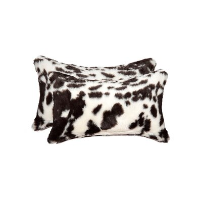 Sheba Brownsville Faux Fur Lumar Pillow