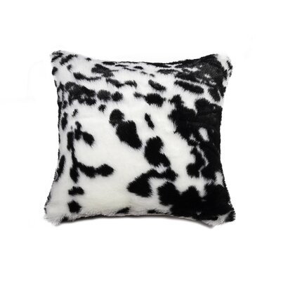Belton Throw Pillow Color: Black & White