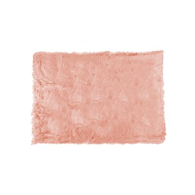 Plano Throw Color: Dusty Rose