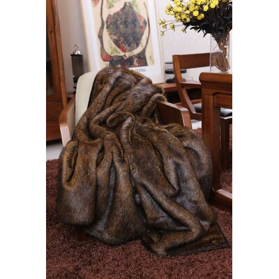 Kanekaron Faux Fur Throw