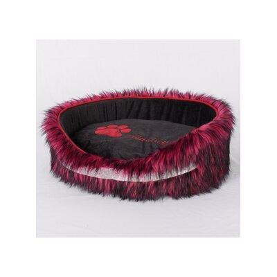 Faux Fur Luxury Dog Bed Size: Small (15 L x 19 W)