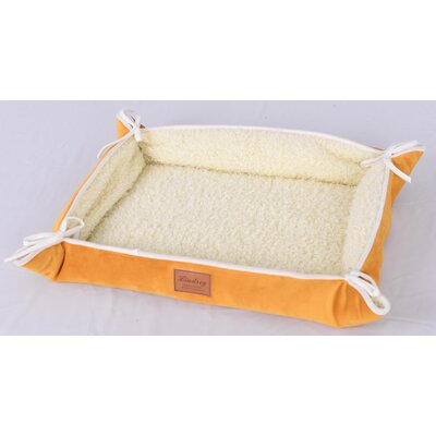Faux Lamb Fur Magic Dog Bed Color: Yellow