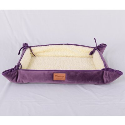 Faux Lamb Fur Magic Dog Bed Color: Purple
