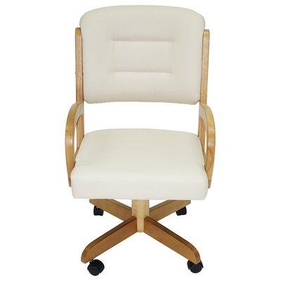 Aruba Upholstered Dining Chair Upholstery: Ocean Beige