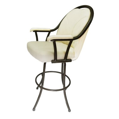 Chesnut 30 Swivel Bar Stool Upholstery: Ocean Beige