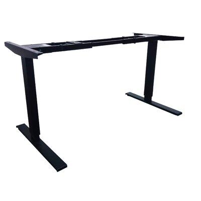 Aero Standing Frame Size: 50 H x 74 W x 28 D, Finish: Black