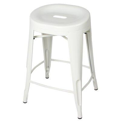 Godbolt 24 Bar Stool Color: White