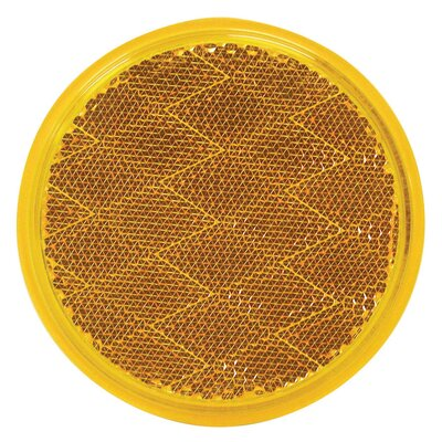 Colored Light Reflector Finish: Amber