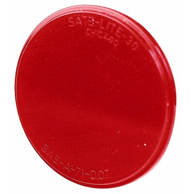 Colored Light Reflector Finish: Red