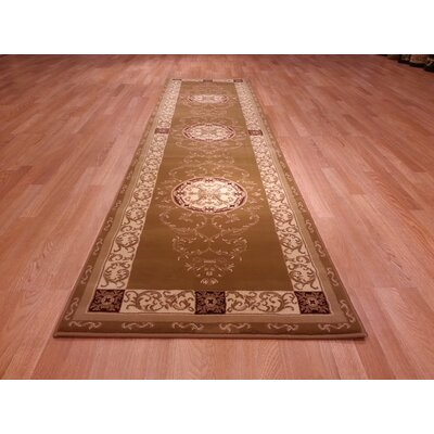 Brown Area Rug Rug Size: Runner 27 x 72