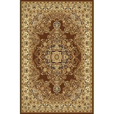 Brown Area Rug Rug Size: Rectangle 66x99