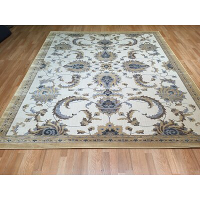 Yellow Area Rug Rug Size: Rectangle 53 x 72