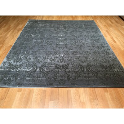 Gray Area Rug Rug Size: Rectangle 711 x 910