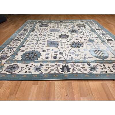 Blue Area Rug Rug Size: Rectangle 10 x 13
