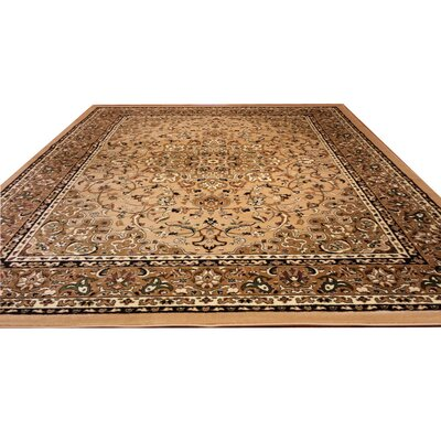 Beige Area Rug Rug Size: Rectangle 10 x 13