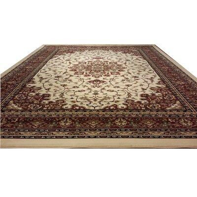 Red Area Rug Rug Size: Rectangle 10 x 13