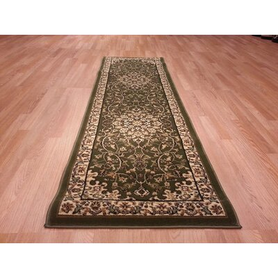 Green Area Rug Rug Size: Runner 2 x 72