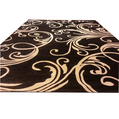 Black Area Rug Rug Size: Rectangle 10 x 13