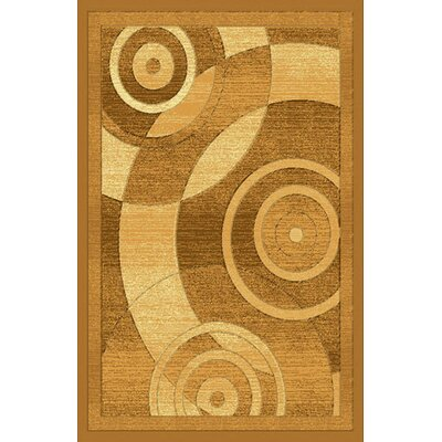 Hand-Carved Brown Area Rug Rug Size: Rectangle 10 x 13