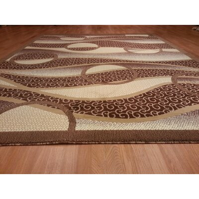 Hand-Carved Beige Area Rug Rug Size: Rectangle 3 x 5