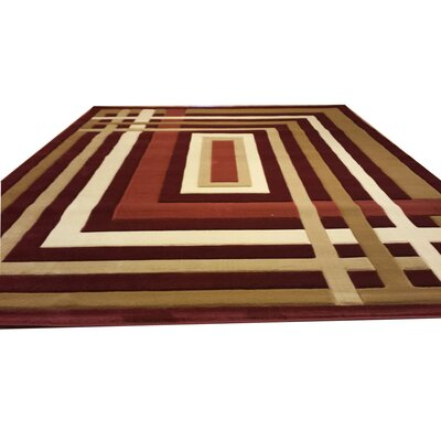 Area Rug Rug Size: Rectangle 53 x 72