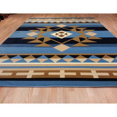 Blue Area Rug Size: Rectangle 711 x 910