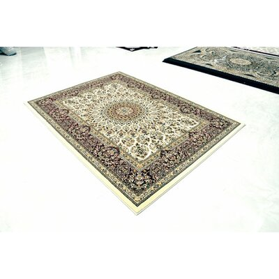 Cream Area Rug Rug Size: 10 x 13