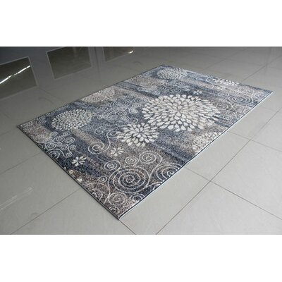 Gray Area Rug Rug Size: Runner 2 x 72