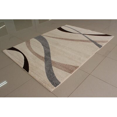 Ivory Area Rug Rug Size: Runner 2 x 72