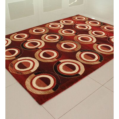 Orange Area Rug Rug Size: Runner 2 x 72
