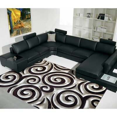 Red Area Rug Rug Size: 27x910 Runner