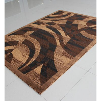 Brown Area Rug Rug Size: Rectangle 4 x 6