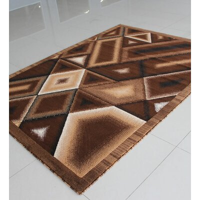 Brown Area Rug Rug Size: Runner 2 x 72