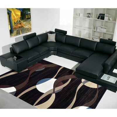 Black Area Rug Rug Size: Runner 27 x 72