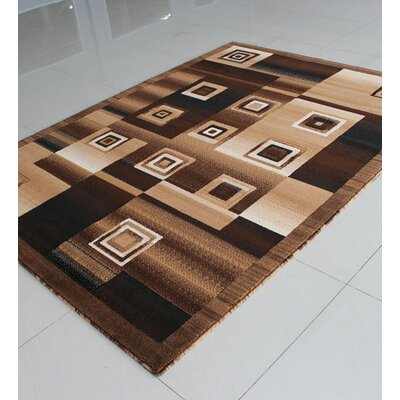 Brown Area Rug Rug Size: Runner 2' x 7'2