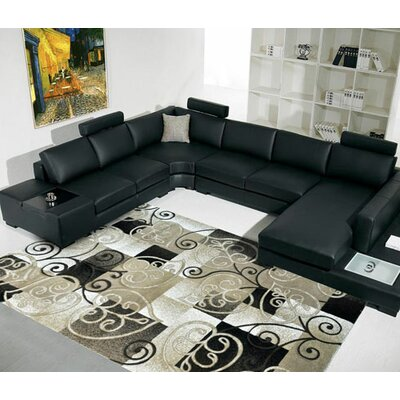 Champagne Area Rug Rug Size: 53 x 72