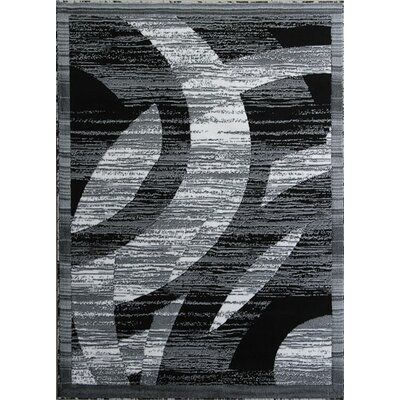 Barnsley Black/White Area Rug