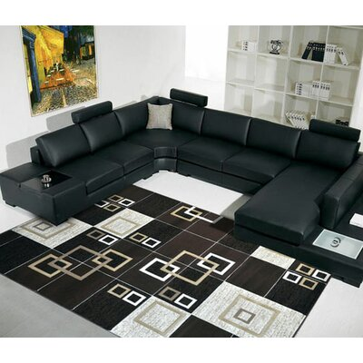 Brown Area Rug Rug Size: 27x910 Runner