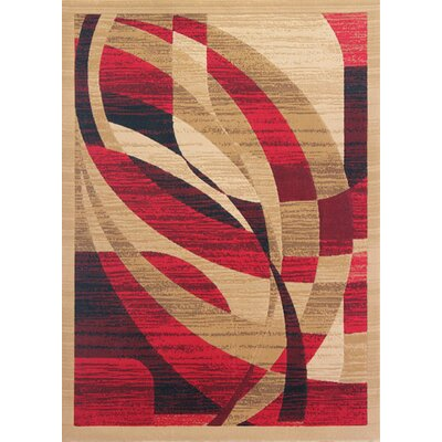 Crigler Berber Red Area Rug