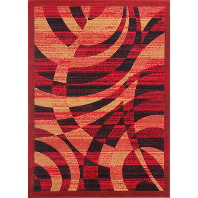 Crigler Red Area Rug