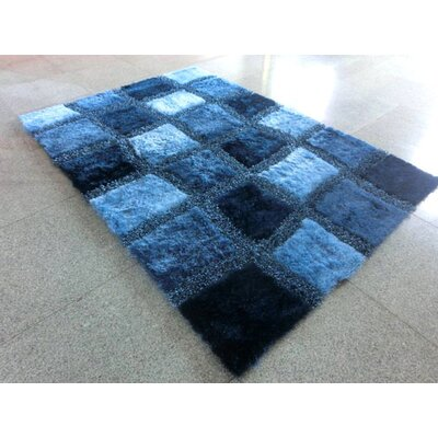 Blue Area Rug Rug Size: 2 x 3