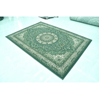 Green Area Rug Rug Size: Runner 27 x 72