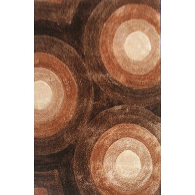 Principato Brown Area Rug Rug Size: 7'11